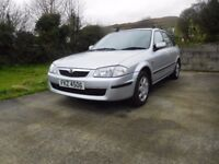 '01 Mazda 323f with low mileage and MOT til May '18
