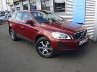 VOLVO XC60 2.4 D5 SE LUX NAV AWD 5d AUTO 212 BHP **FULL SERVICE HISTORY** (red) 2013