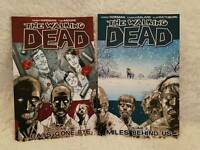 Comic books.. Batman,The Walking Dead, Marvel,DC
