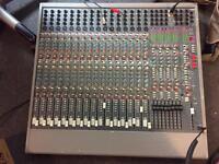 Allen and Heath S2 mixing desk