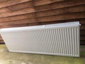 Double panel radiator 165cm long