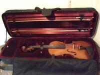 Labelled antique violin