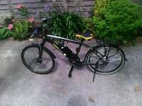Electric bike Urban Mover Um 10 36 elite upgraded battery ex demo bicycle