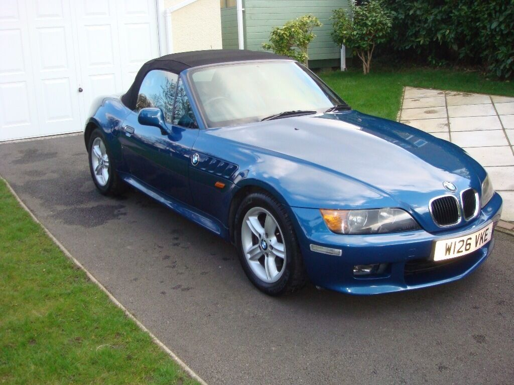 Bmw Z3 Roadster 2lt 6 Cyl Year 2000 85200 Miles Manual