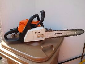 FOR SALE MY STIHL MS 170 14 IN CHAINSAW