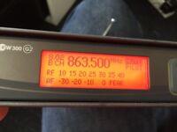 Sennheiser EW300 G2 receiver