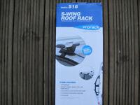 Prorack S-wing Whispbar silent roof bars 120cm S16 roofbars throughbars through bars Aero Mondeo etc