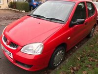 Rover City Rover Solo 1405cc Petrol 5 speed manual 5 door hatchback 06 Plate 30/03/2006 Red
