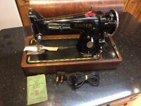 Heavy Industrial Singer Sewing Machine 201K2