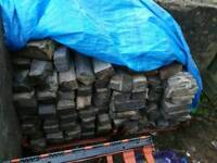 A load of bricks. Full and half's.