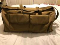 All in one duffle bag/suite carrier