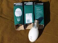 Sylvania Mercury Vapour Lamp HSL-BW 250W E40 code 0020408, lot of 4