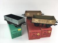Hornby o gauge railway wagons