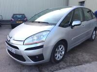 CITROEN C4 PICASSO 2007 AUTOMATIC 1.6 DIESEL not zafira/ford Vauxhall or opel van