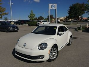2012 Volkswagen Beetle Highline 2.5L 6sp at w/ Tip
