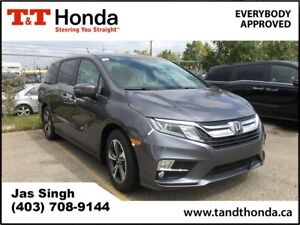 2018 Honda Odyssey EX-L w/Navi* Leather, Heated Seats, Blueto...