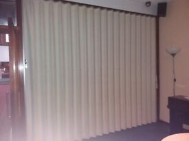 Folding Vinyl Room Partition