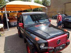 mercedes G wagon w460