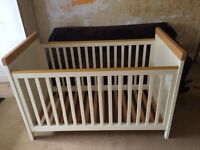 A Humphrey corner cot/bed in good condition.