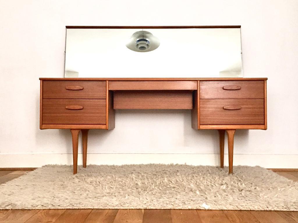 new styles 870d8 d7b09 Vintage Austinsuite dressing table teak 1960s Frank Guille mid Century | in  Crystal Palace, London | Gumtree