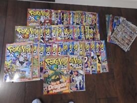 Pokemon World Magazines Numbers 69 to 112
