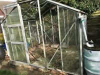 Greenhouse W=2.5m x H=2.0m D=1.9m Buyer to dismantle and collect