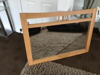 Beautiful Giant Solid wood Mirror