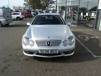 2006 06 MERCEDES-BENZ C CLASS 1.8 C180 KOMPRESSOR SPORT AUTO **** GUARANTEED FINANCE ****
