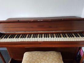 Minx miniature piano for sale