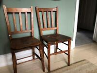 Two very old chairs - Free