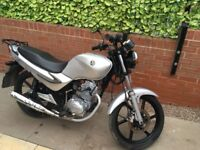 Sym 125 xs geared bike
