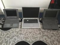 Vintage apple laptops
