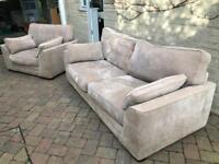 3 seater sofa and love seat