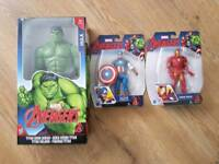 Marvel avenger figures brand new