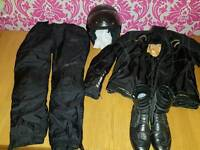 Like NEW ladies motorbike gear