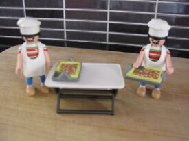 Playmobil 2 x pizza chef 5203