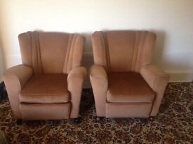 2 armchair in excellent condition