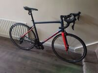 BRAND NEW Allez Sport Navy/Red 2018 58cm Aluminium Racing Bike for Sale