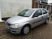 Vauxhall Corsa Life 1Ltr 3 door model ideal first car long mot and svs history SALE PRICE