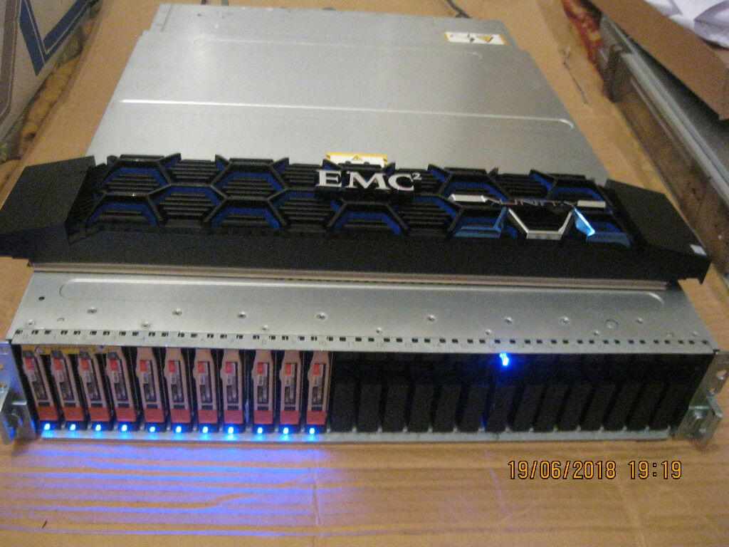 Dell EMC Unity 300 Hybrid Flash Storage 11 x 600gb boxed with invoice | in  Bridlington, East Yorkshire | Gumtree