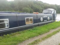 45 ft narrow boat, 2004 cruiser stern