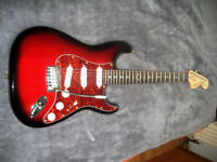 Fender Squier 'Standard' Stratocaster, Sounds and plays as good as it looks!