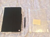 Brand new Black and Tan Apple iPad Air Mofred leather case