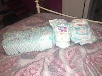 48 Size 4+ Nappies