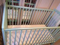 Ultimate Baby Crib + Mattress *Like NEW*