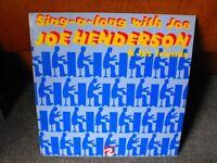 "Joe Henderson - Sing-a-Long - Mr Piano man - 12"" Vinyl"
