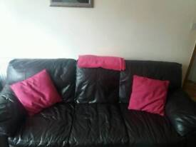 Leather sofas, great condition, smoke free home £150. Each or both for £300