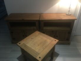 *SOLD* Sideboard x 2 and coffee table