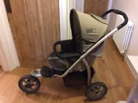 Mamas & Papas M&P 03 Series advance swivel 3 wheeler pushchair