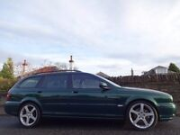 "(2006) JAGUAR X-Type 2.2d Premium SPORT Estate - 18"" Alloys - Sat-Nav - Leather - 70,000 Miles - FSH"